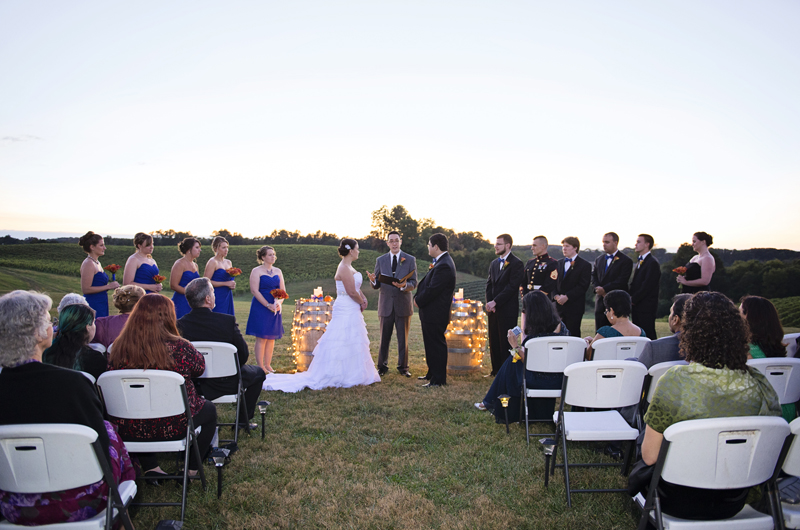 Linganore Winecellars Wedding Photography 038