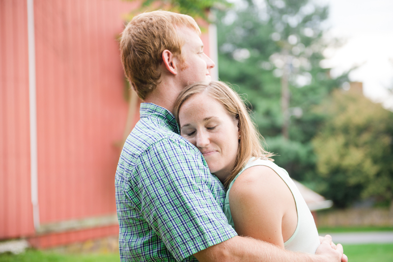 Rustic Farm Maryland Engagement Session by Britney Clause Photography