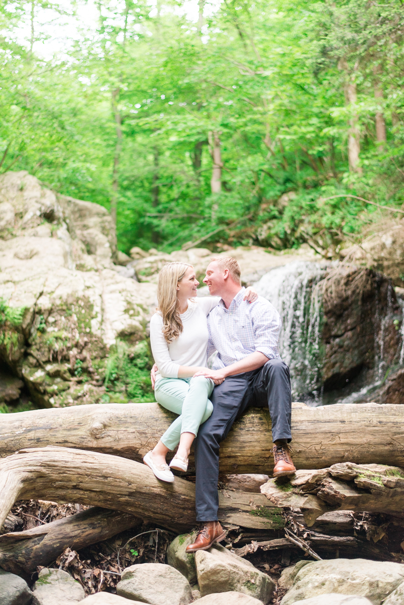 wedding photographers in maryland patapsco valley state park engagement session