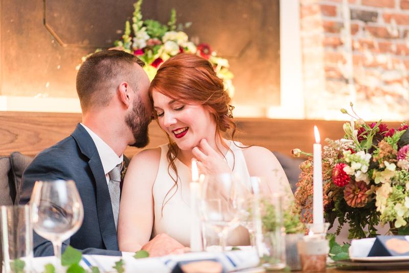 Wedding at La Cuchara Baltimore styled shoot