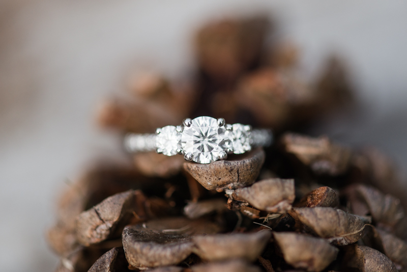 Jerusalem Mill engagement ring in maryland