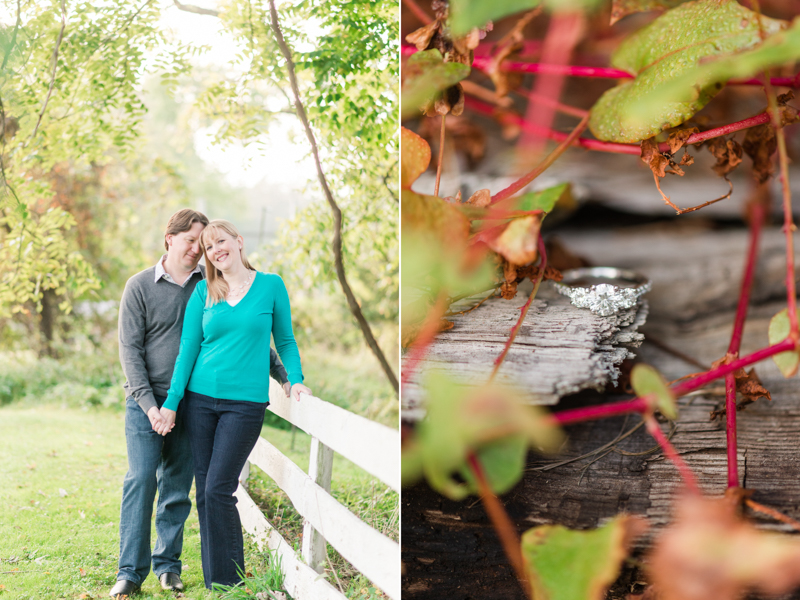 Jerusalem Mill ring engagement session in maryland