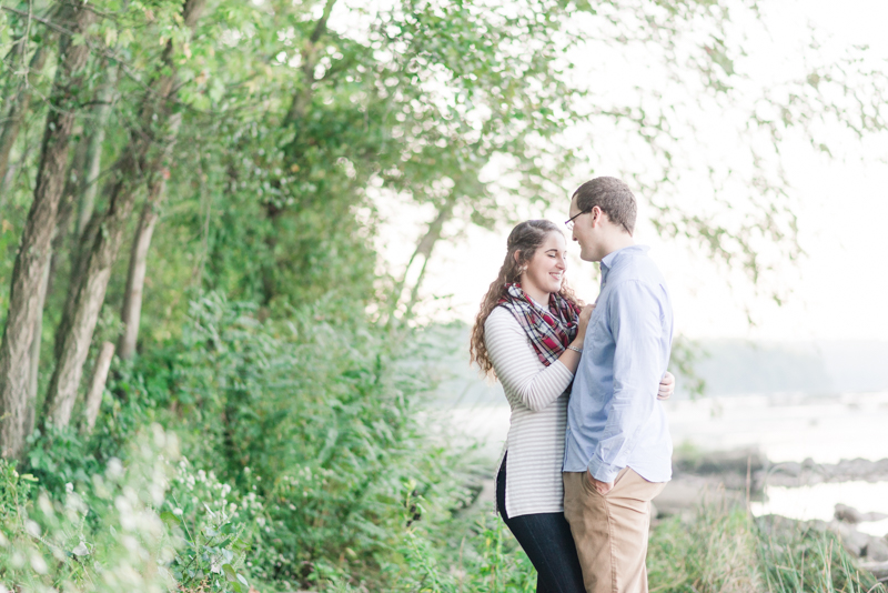 Susquehanna State Park engagement session in Havre De Grace, Maryland by Britney Clause Photography
