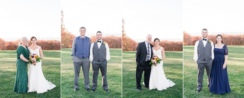dulany's overlook wedding frederick maryland