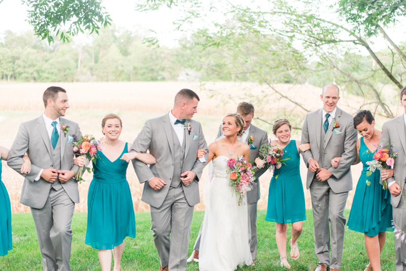 Flora Corner Farm Wedding