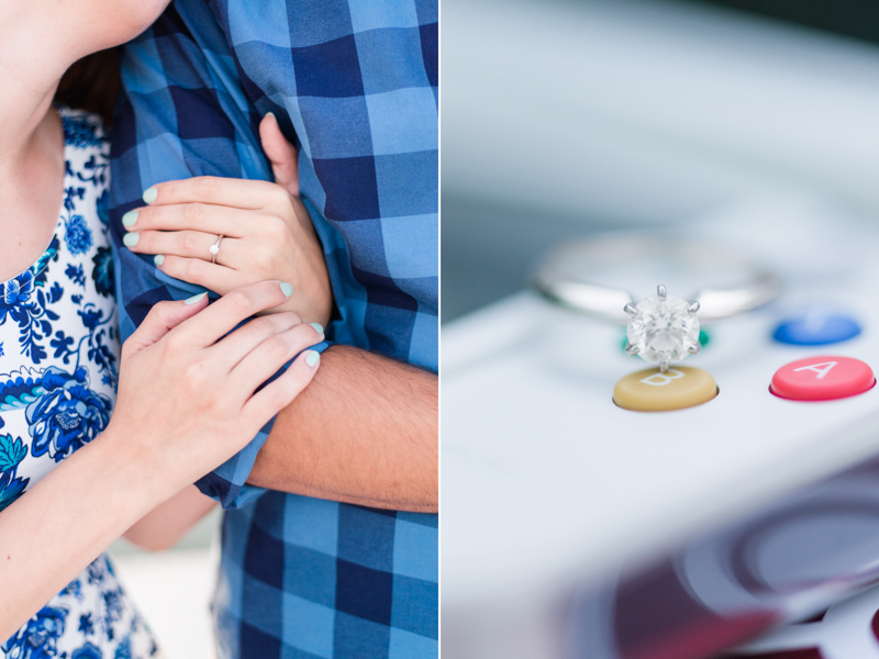 maryland wedding photographer engagement ring alexandria virginia