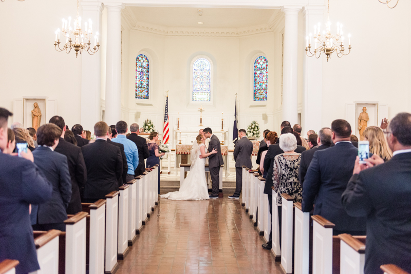 wedding photographer maryland virginia fort myer old post chapel officer club