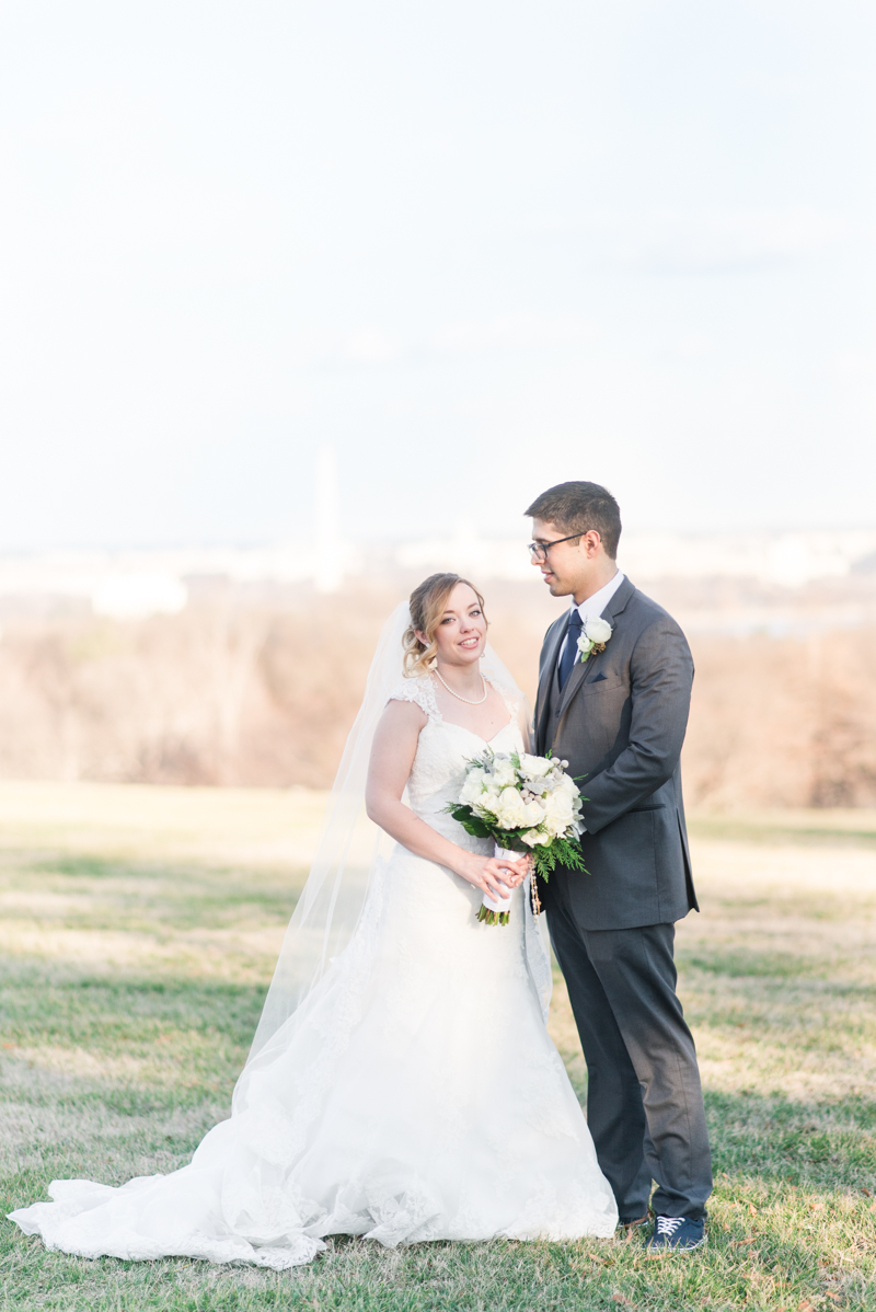 wedding photographer maryland virginia fort myer old post chapel officer club whipple field