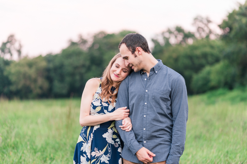 Engagement session timing maryland centennial park