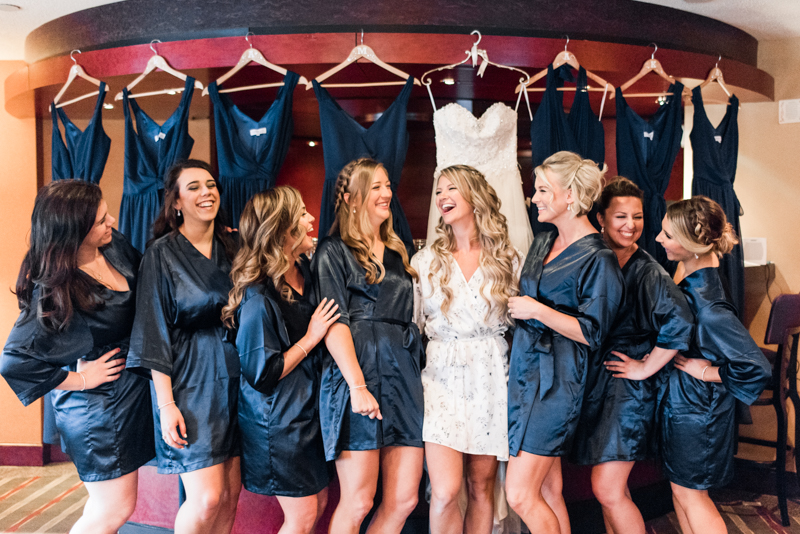 pier 5 hotel wedding baltimore maryland photographer bridesmaids