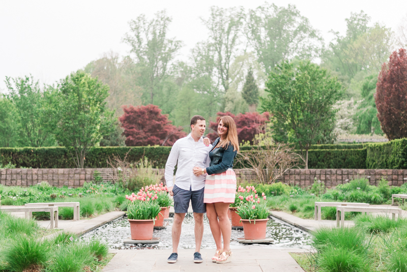 wedding photographers in maryland brookside gardens engagement silver spring
