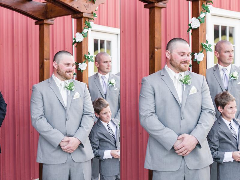 wedding photographers in maryland robin hill farm brandywine ceremony