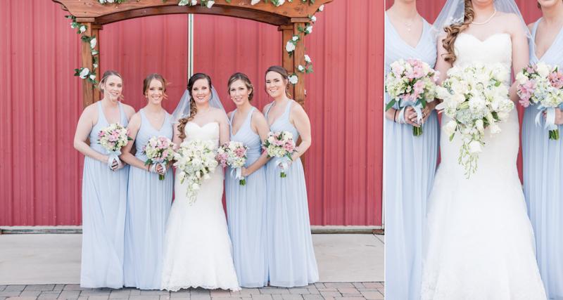 wedding photographers in maryland robin hill farm brandywine vogel flowers bridal party