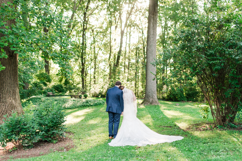 Wedding Photographers in Maryland Liriodendron Mansion Bel Air bride and groom