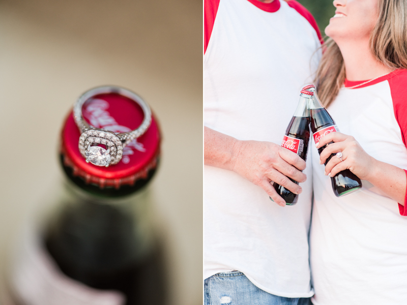 wedding photographers in maryland foxhill park engagement session bowie coca-cola