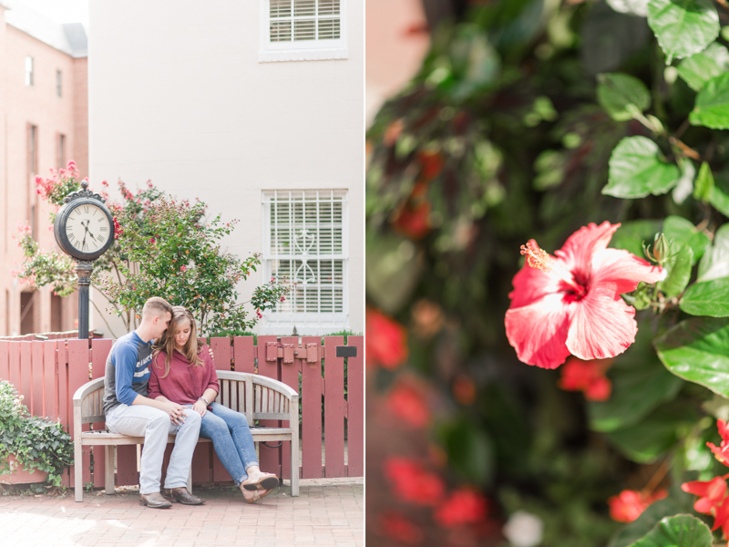 wedding photographers in maryland naval academy engagement downtown annapolis