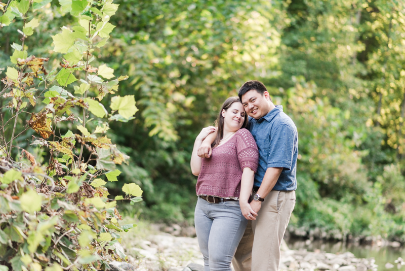 Wedding Photographers in Maryland Historic Savage Mill Engagement Session