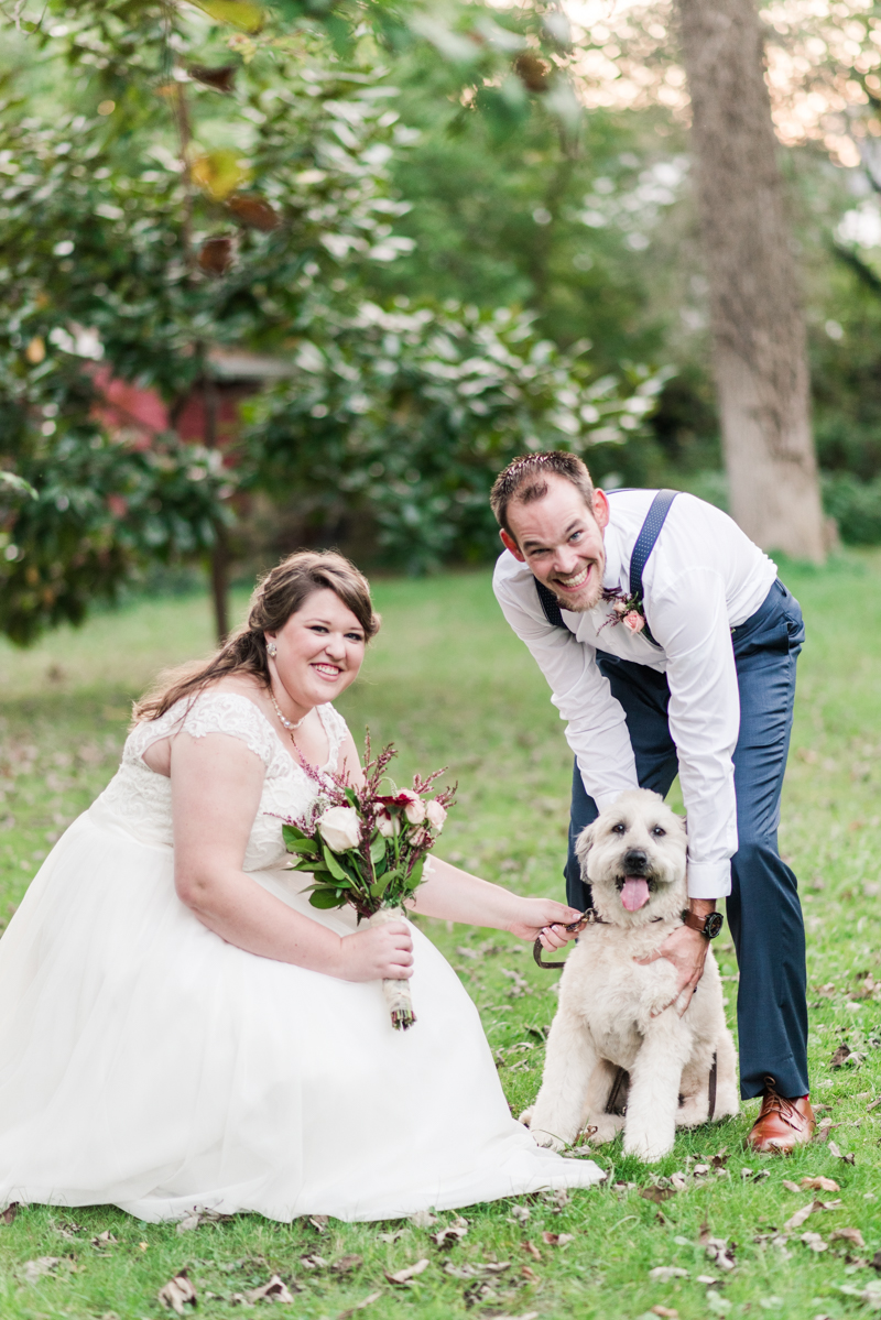 Wedding Photographers in Maryland Arbutus Backyard Baltimore