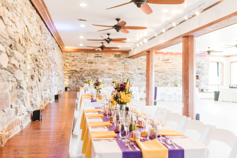 Wedding Photographers in Maryland Caboose Farm Frederick Abloom Florist Reception