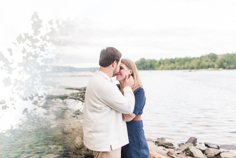 Wedding Photographers in Maryland Susquehanna State Park Engagement Session Sunset