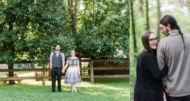 Wedding Photographers in Maryland Year Review Engagement Family Pets