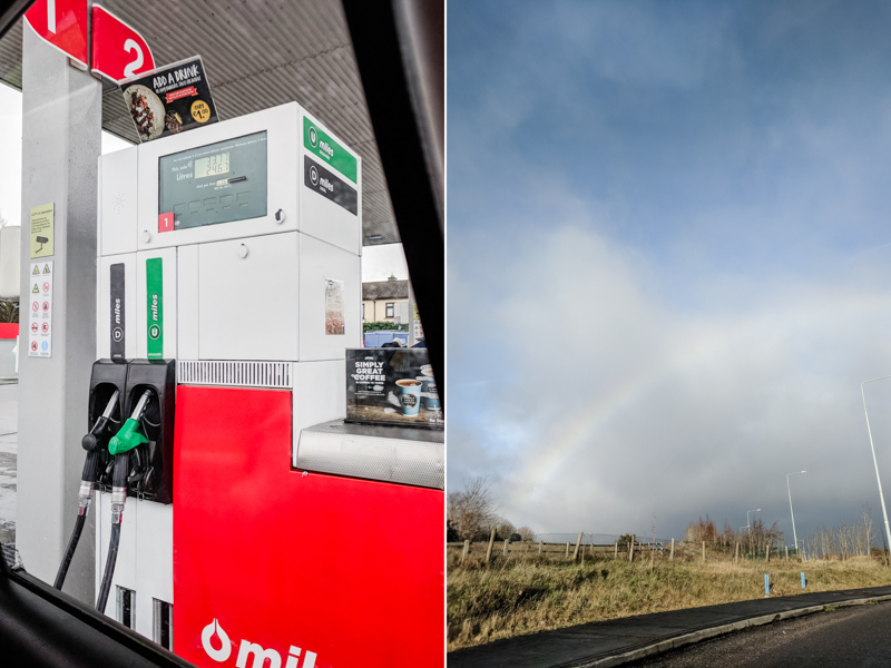 Ireland 2018 Limerick petrol station