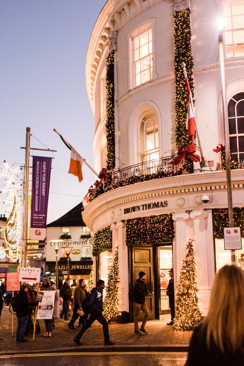 Ireland Adventure 2018 Galway Christmas Market