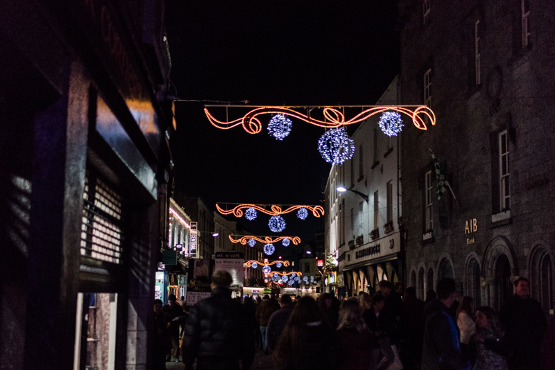 Ireland Adventure 2018 Galway Christmas Market