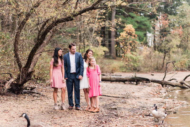 Wedding Photographers in Maryland Loch Raven Reservoir Family Session