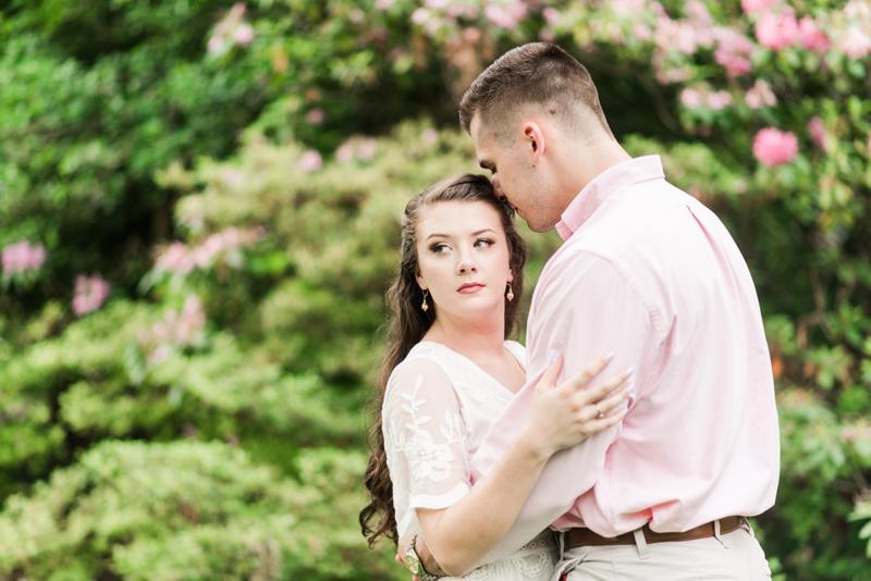 Wedding Photographers in Maryland Baltimore Engagement Sherwood Gardens