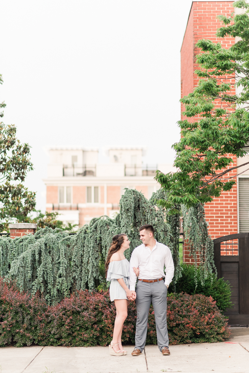 Wedding Photographers in Maryland Baltimore Engagement Federal Hill