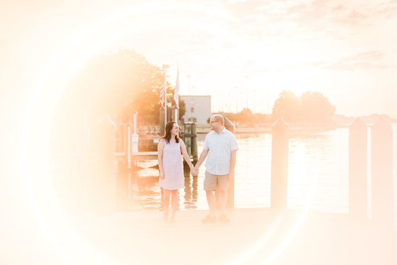 Wedding Photographers in Maryland Downtown Annapolis Engagement Waterfront Sunrise