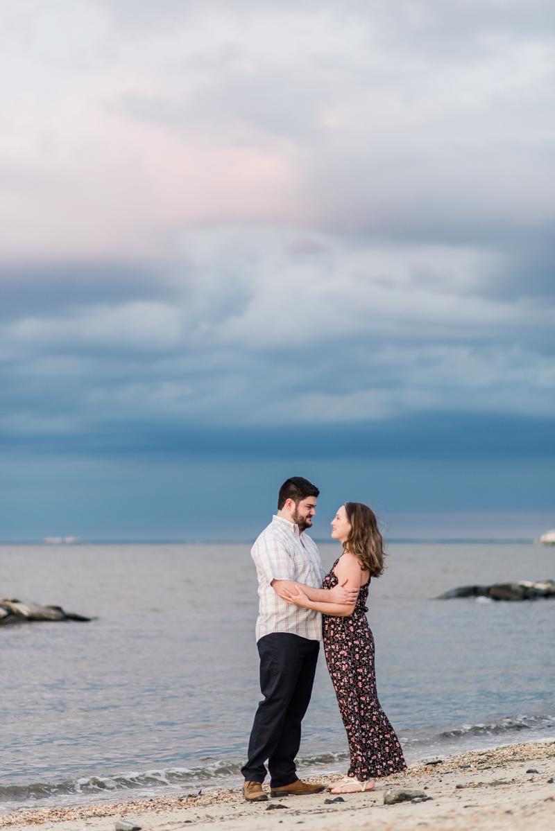 Wedding Photographers in Maryland North Beach Herrington Harbour Engagement