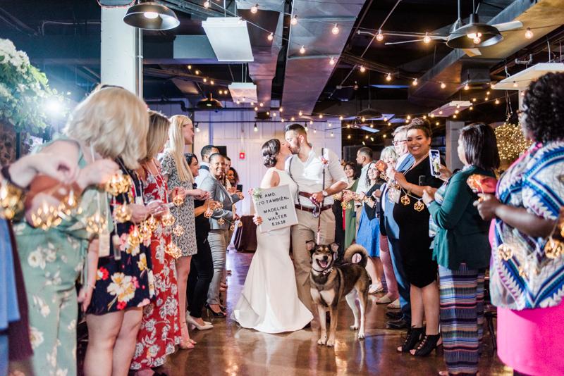 Wedding Photographers in Maryland The Big Fake Wedding Baltimore Main Street Ballroom
