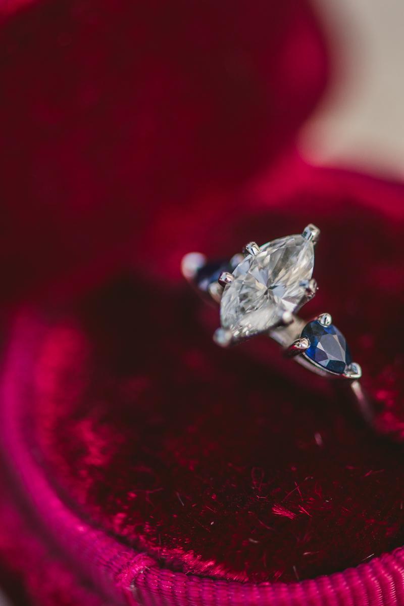 Maryland Wedding Photographers Washington DC Sunrise Engagement Session Tidal Basin Ring