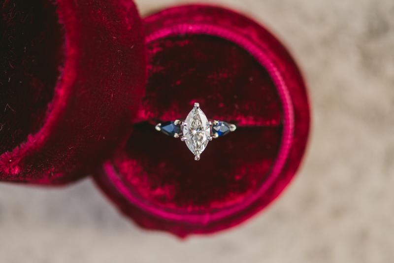 Maryland Wedding Photographers Washington DC Sunrise Engagement Session Jefferson Memorial Ring