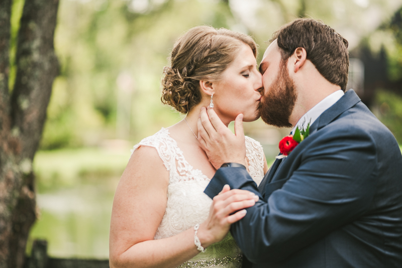 Chanteclaire Farm Wedding Photographer Friendsville Maryland First Look
