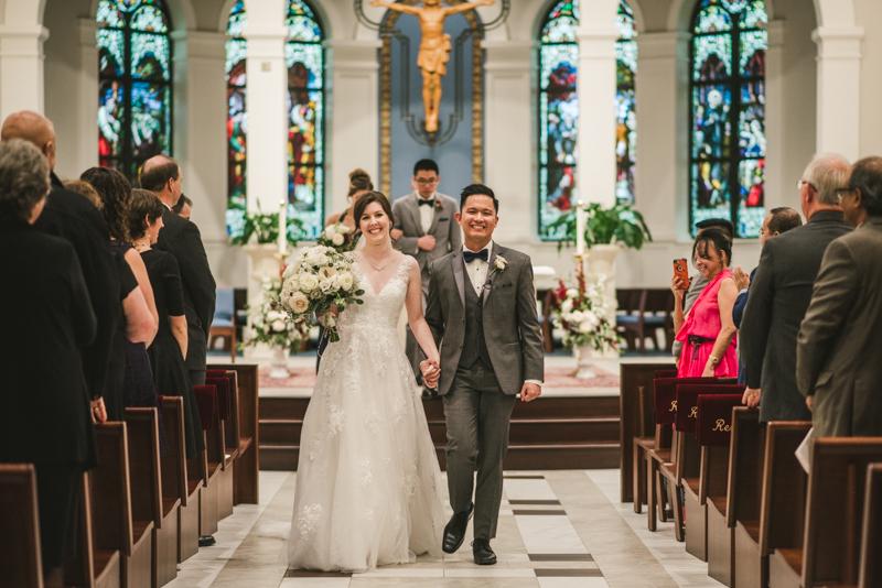 Wedding Photographers in Maryland Frederick St Katharine Drexel Catholic Church