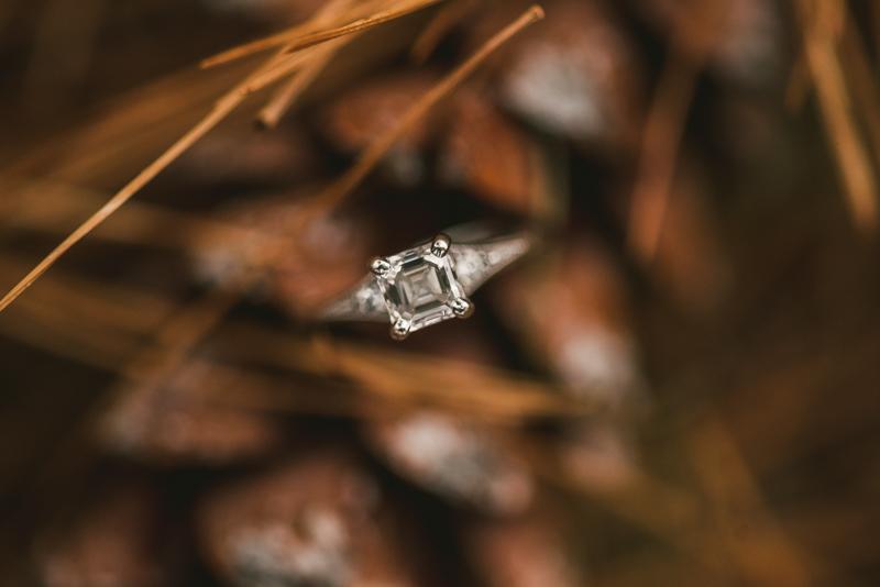 Kinder Farm Engagement Session Maryland Wedding Photographer Ring