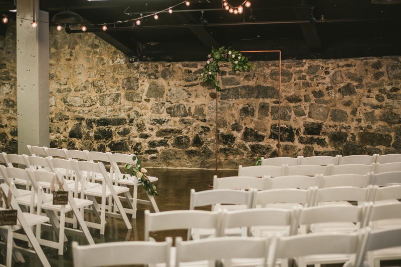 Wedding Photographers in Maryland Main Street Ballroom Ellicott City Ceremony