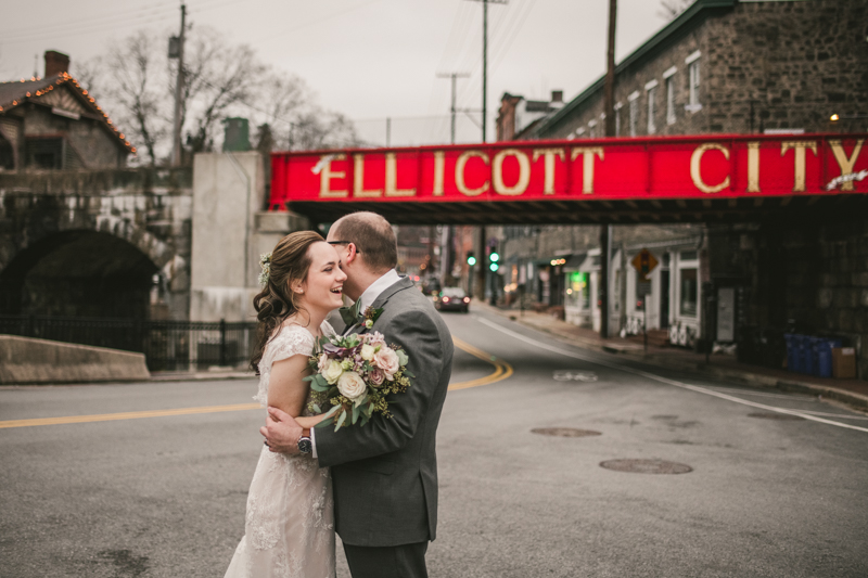 Wedding Photographers in Maryland Main Street Ballroom Ellicott City