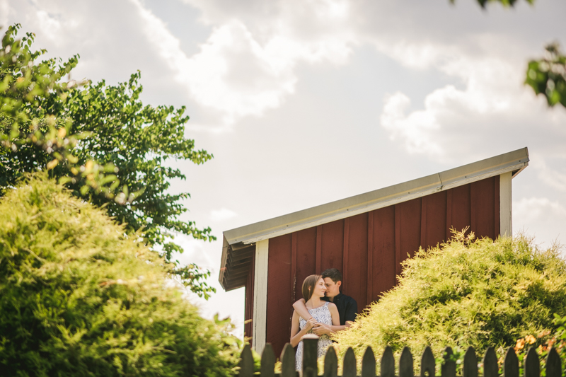 A beautiful engagement session at Kinder Farm Park with Britney Clause Photography, wedding photographers in Maryland