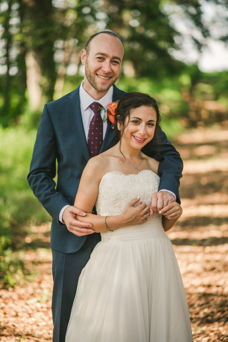 A gorgeous summer wedding at Dulany's Overlook in Frederick Maryland by Britney Clause Photography, wedding photographers in Maryland.