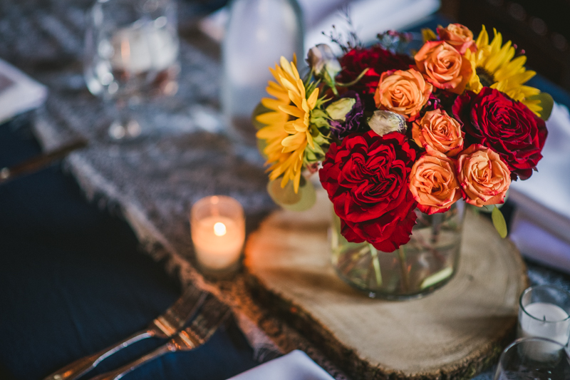 Gorgeous summer wedding flowers by Ory Custom Florals at Dulany's Overlook in Frederick Maryland by Britney Clause Photography, wedding photographers in Maryland