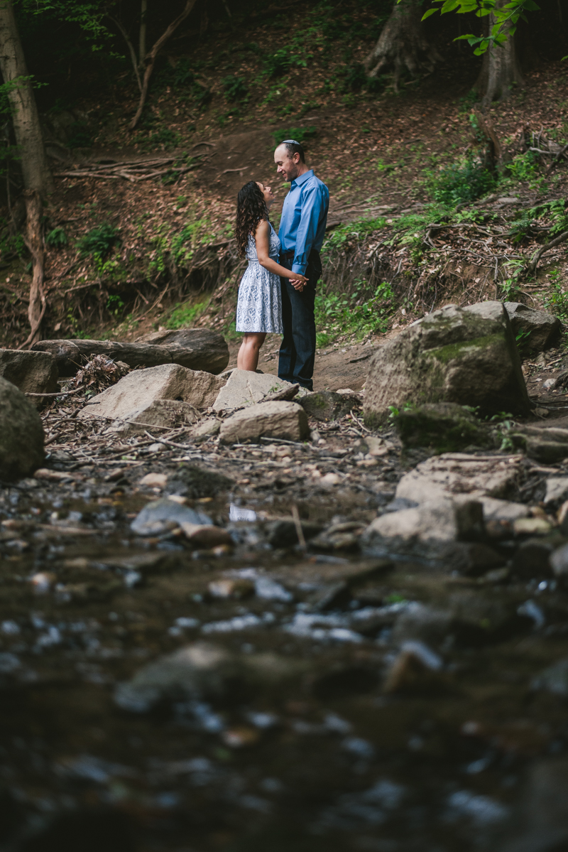 A gorgeous engagement session at Rock Creek State Park in Washington DC by Britney Clause Photography Wedding Photographers in Maryland