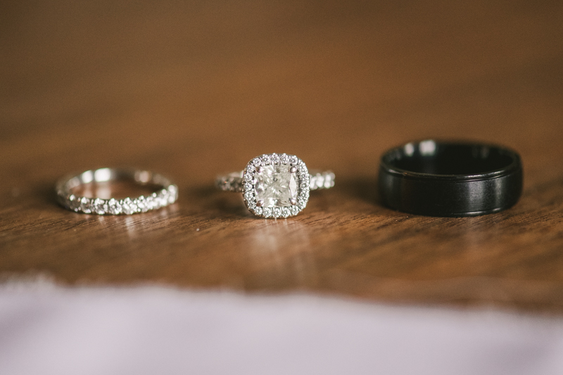 Getting ready for a Mount Vernon wedding at Hotel Revival in Baltimore, Maryland by Britney Clause Photography