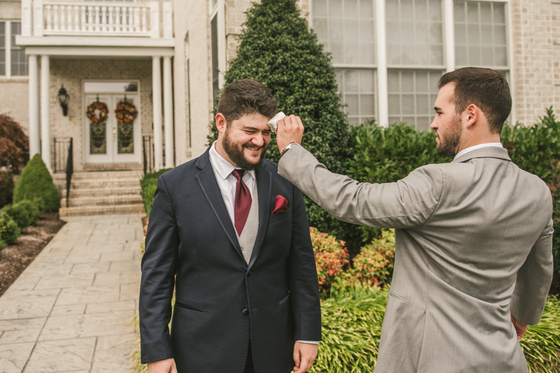 Gorgeous fall wedding in Maryland. Photo by Britney Clause Photography