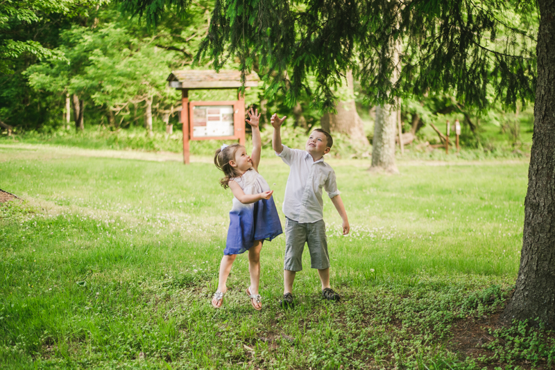 A summer engagement session at Patapsco Valley State Park in Elkridge by Britney Clause Photography