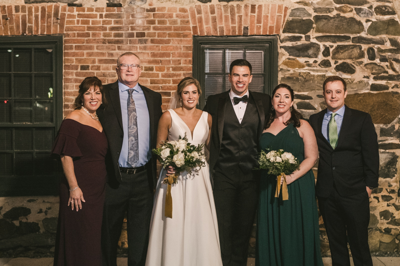 A gorgeous wedding at Mt Washington Mill Dye House in Baltimore, Maryland. Captured by Britney Clause Photography