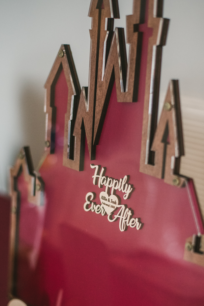 Magical ways to incorporate Disney and Mickey Mouse into your wedding day decorations by Britney Clause Photography